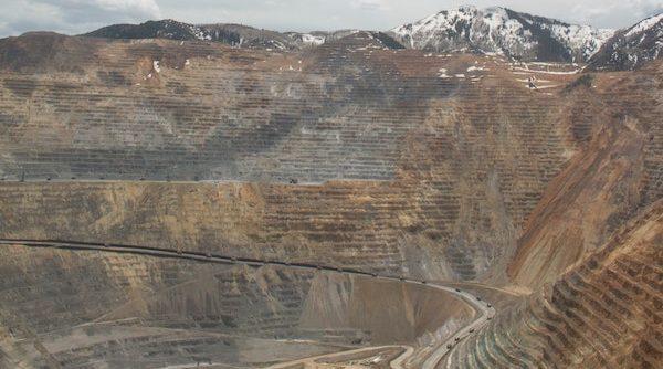 Bild på gruva